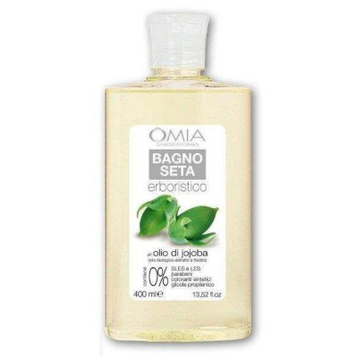OMIA BAGNOSCHIUMA ECO BIOLOGICO OLIO JOJOBA 400 ML