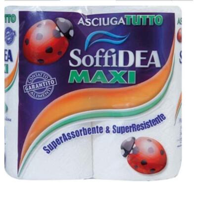 SOFFIDEA ASCIUGATUTTO MAXI 2 ROTOLI