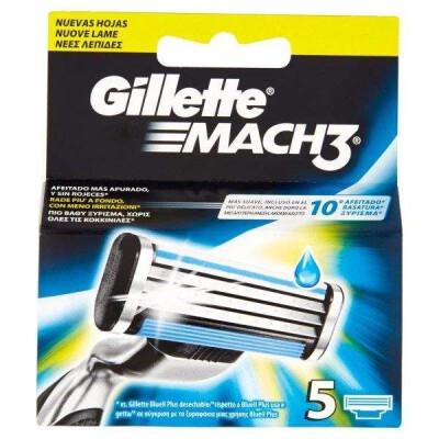 GILLETTE MACH3 RICARICA 5 PZ
