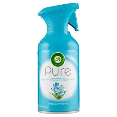 AIRWICK DEODORANTE AMBIENTI PURE SPRAY PRIMAVERA 250 ML