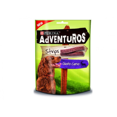 ADVENTUROS STRIPS 90 GR CERVO