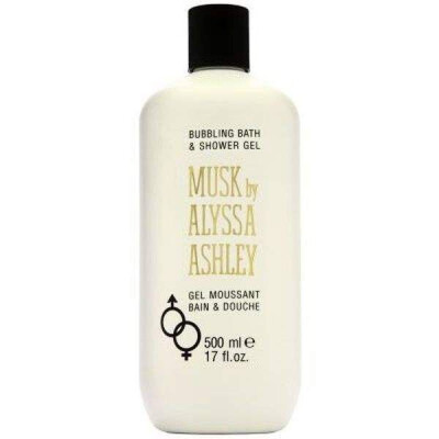 ALYSSA ASHLEY MUSK BUBBLING BATH AND SHOWER GEL 500ML