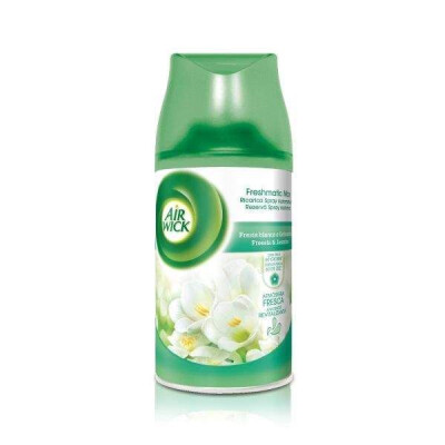 AIR WICK FRESH MATIC RICARICA SPRAY FRESIA BIANCA E GELSOMINO 250 ML
