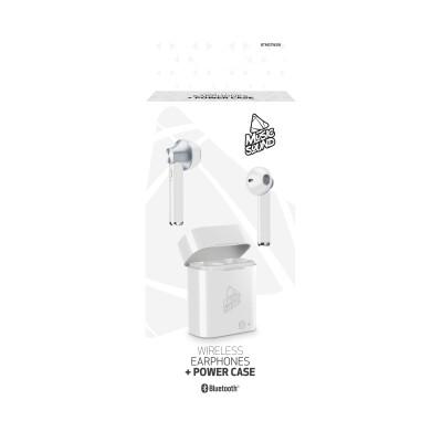 Cellularline Auricolare Bluetooth Wireless Bianco