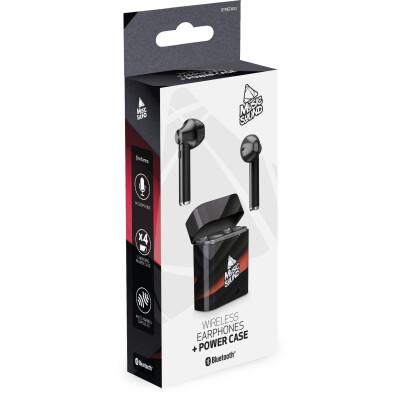 Cellularline Auricolari Bluetooth 5.0 con Microfono Black/red