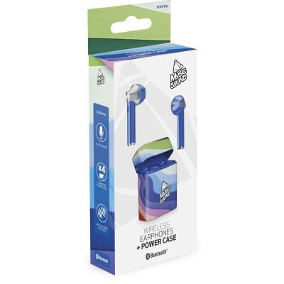 Cellularline Auricolari Bluetooth 5.0 con Microfono Blue