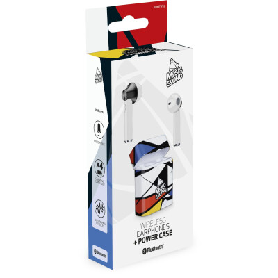 Cellularline Auricolari Bluetooth 5.0 con Microfono Paint