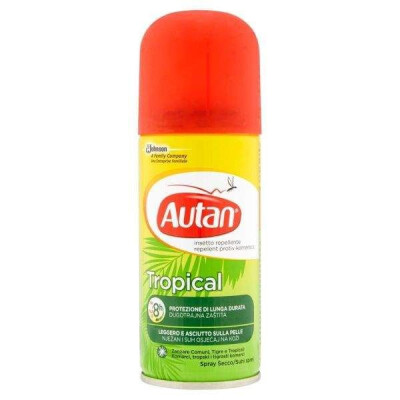 AUTAN TROPICAL SPRAY SECCO INSETTICIDA REPELLENTE 100 ML.