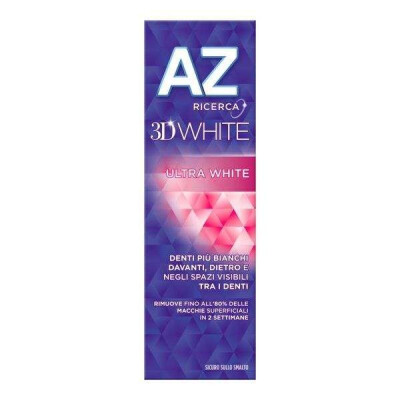 AZ DENTIFRICIO 3D WHITE ULTRA WHITE