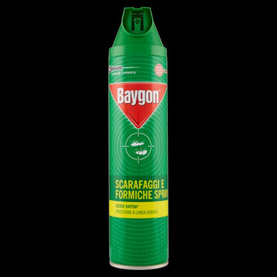 BAYGON VERDE PLUS SCARAFAGGI E FORMICHE SPRAY 400 ML.