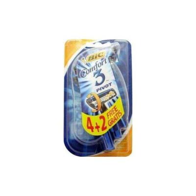 BIC RASOIO COMFORT 3 LAME BLISTER 4+2 PZ OMAGGIO
