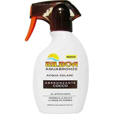 BILBOA ACQUABRONZE SOLARE SPRAY ABBRONZANTE LATTE DI COCCO 250 ML