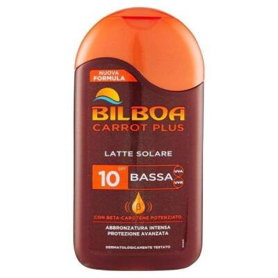 BILBOA CARROT PLUS LATTE SOLARE PROTEZIONE BASSA SPF10 200 ML