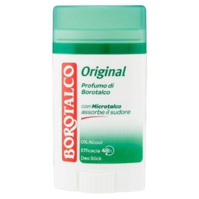 BOROTALCO ORIGINAL DEODORANTE STICK ORIGINAL 40 ML