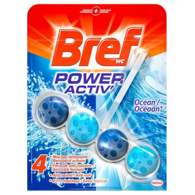 BREF WC POWER ACTIVE TAVOLETTE WC 4 IN 1 OCEANO 50 GR