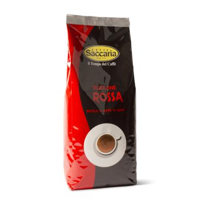 CAFFE' SACCARIA SELEZIONE ROSSA. MISCELA IN GRANI 1 KG