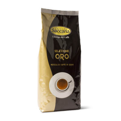 CAFFE' SACCARIA MISCELA IN GRANI SELEZIONE ORE 1 KG