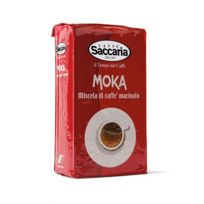CAFFE' SACCARIA MISCELA DI CAFFE' MACINATO PER MOKA 250 GR