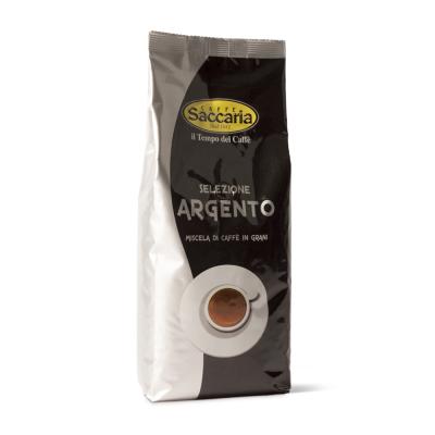 CAFFE' SACCARIA MISCELA IN GRANI SELEZIONE ARGENTO 1 KG