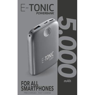 Cellularline Caricabatterie portatile 5000 mah Nero Slim