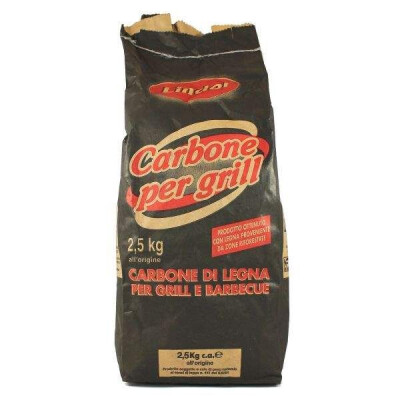CARBONELLA PER GRILL E BARBEQUE 2,5 KG