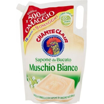 CHANTECLAIR BUCATO ECORICARICA MUSCHIO BIANCO 1000+500 ML