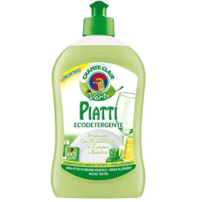 CHANTECLAIR VERT DETERSIVO PIATTI CONCENTRATO LIMONE E BASILICO ML 500