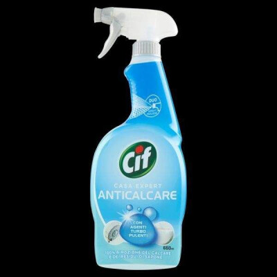 CIF SPRAY DUO MOUSSE ANTICALCARE BAGNO 650 ML