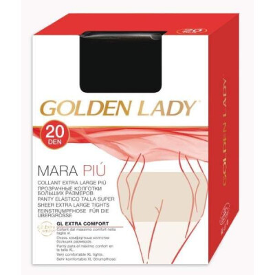 GOLDEN LADY COLLANT MARA PIU' COLORE MELON