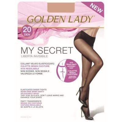 GOLDEN LADY COLLANT MY SECRET 20 DENARI 2 COLORE NERO