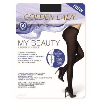 GOLDEN LADY COLLANT MY BEAUTY 50 DENARI 5 COLORE NERO