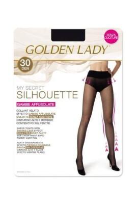 GOLDEN LADY COLLANT SILHOUETTE 30 DENARI TAGLIA 2 COLORE MELON