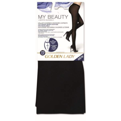 GOLDEN LADY COLLANT BEAUTY 70 DENARI TAGLIA 4 COLORE NERO