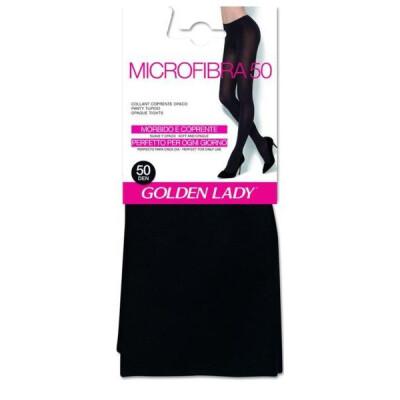 GOLDEN LADY COLLANT MICROFIBRA 50 DENARI TAGLIA L COLORE NERO
