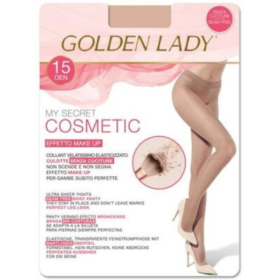 GOLDEN LADY COLLANT COSMETICS 15 DENARI COLORE MELON TAGLIA 4