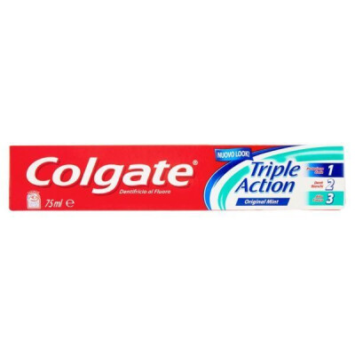 COLGATE TRIPLE ACTION DENTIFRICIO GEL ML 75