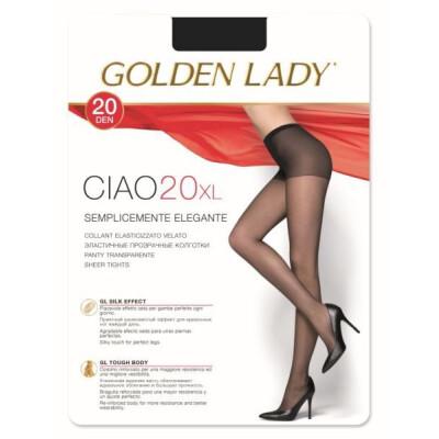 GOLDEN LADY COLLANT CIAO 20 DENARI TAGLIA XL COLORE NERO