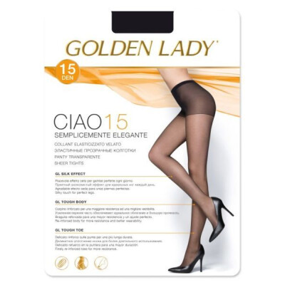 GOLDEN LADY COLLANT CIAO 15 DENARI COLORE DAINO TAGLIA 4