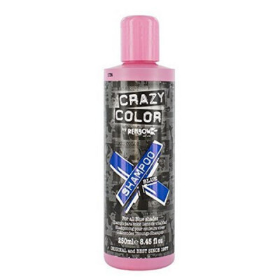 CRAZY COLOR SHAMPOO BLUE 250 ML