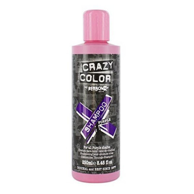 CRAZY COLOR SHAMPOO PURPLE 250 ML