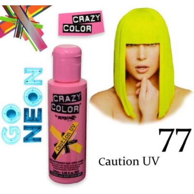 CRAZY COLOR 100 ML CAUTION UV