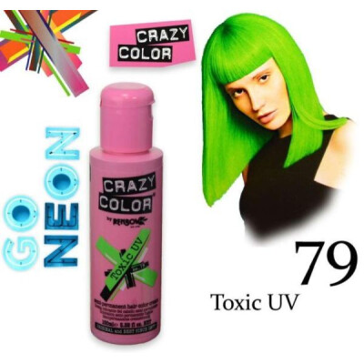 CRAZY COLOR 100 ML TOXIC UV
