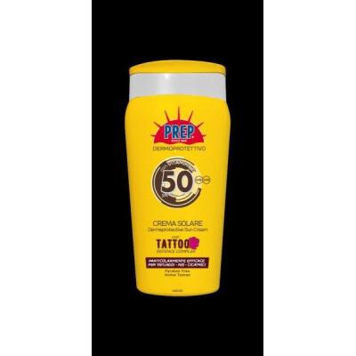 PREP CREMA SOLARE TATOO SPF50+ 200 ML