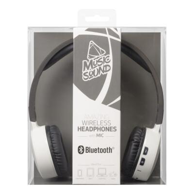 Cellularline Cuffie Wireless Bluetooth con Microfono Bianche