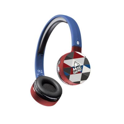 Cellularline Cuffie Wireless Bluetooth con Microfono Triangoli