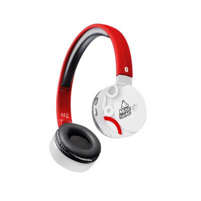 Cellularline Cuffie Wireless Bluetooth con Microfono Cerchi