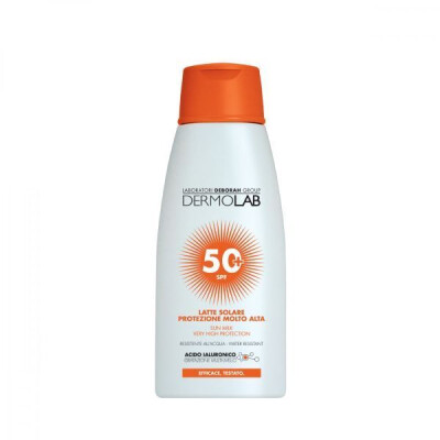 DERMOLAB LATTE SOLARE CORPO SPF 50+ 200 ML PROTEZIONE MOLTO ALTA