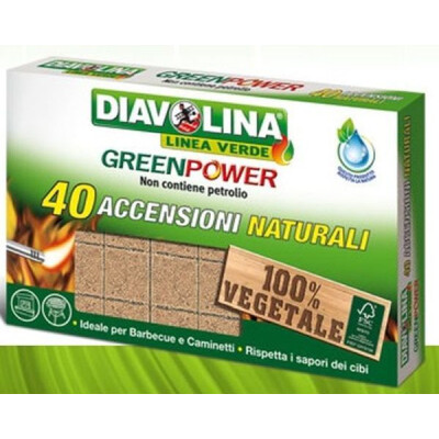 DIAVOLINA GREENPOWER NATUR.40 ACCENSIONI