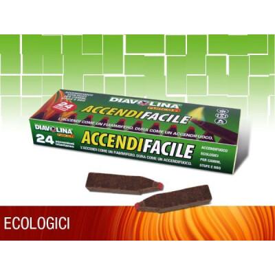 DIAVOLINA ACCENDIFACILE ECO 24 FIAMMIFERI