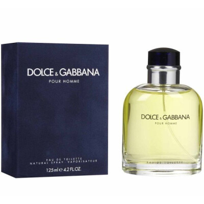 DOLCE & GABBANA POUR HOMME EDT VAPO 125 ML
